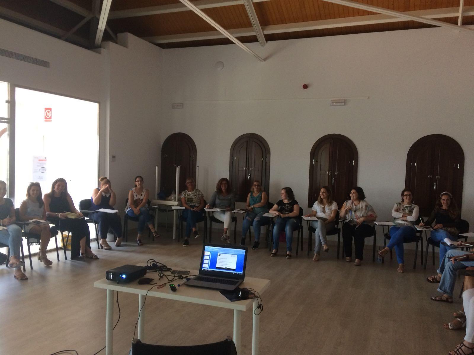 Escaparatismo La Rinconada. Curso de Formación de Camarinal Consultores