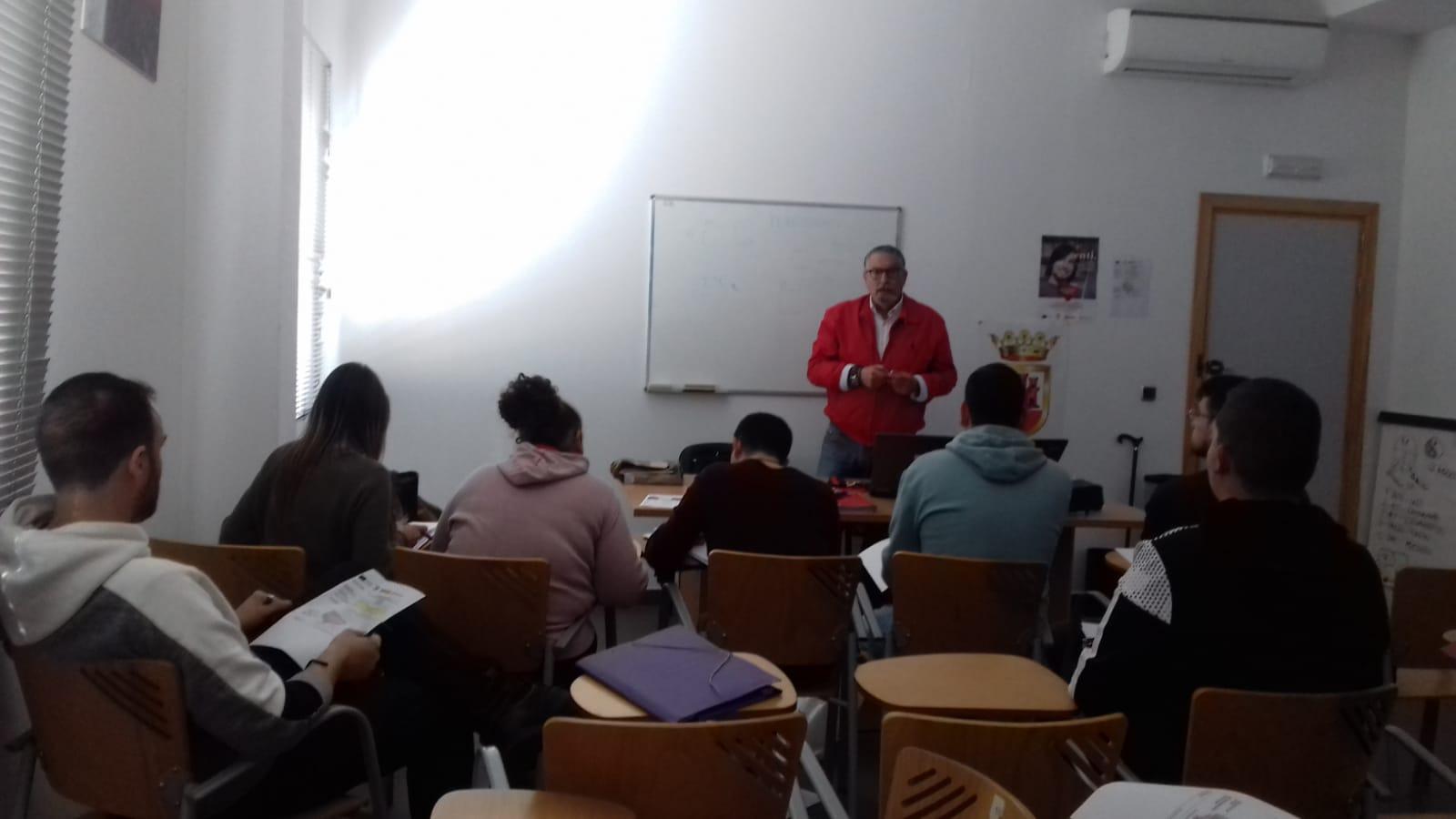 Camarinal imparte su primer Curso PICE en la Cámara de Comercio del Campo de Gibraltar